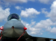 战斗喷气机 免版税库存照片