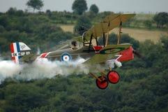 战斗机有历史的飞机 免版税库存图片