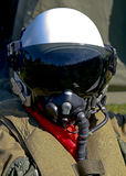 战斗机飞行员 免版税库存图片