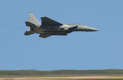 战斗机高喷气机速度 免版税库存图片