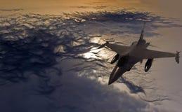 战斗机 免版税库存图片
