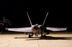 战斗机F-18 免版税库存照片
