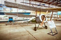 战斗机Sopwith 在1918年修造,大英国 免版税库存图片