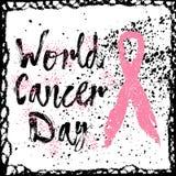 战斗癌症 关于乳腺癌了悟的激动人心的行情 图库摄影