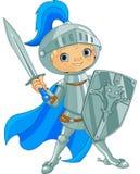 战斗的勇敢的骑士 皇族释放例证