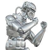 战斗的机器人 皇族释放例证