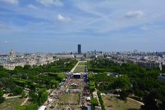 战神广场Viem,巴黎,法国 免版税图库摄影