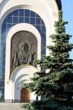 战胜乔治极大的受难者的寺庙 免版税库存照片