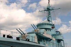 战舰 库存图片