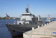 战舰 免版税库存图片