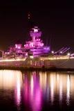 战舰10月粉红色 库存图片