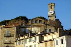 戛纳法国海滨视图 免版税图库摄影