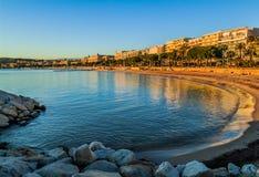戛纳法国海滨 库存照片
