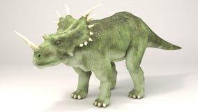 戟龙恐龙 库存照片