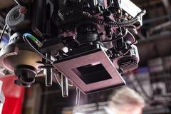 截去数字路径专业人员录影的照相机 免版税图库摄影