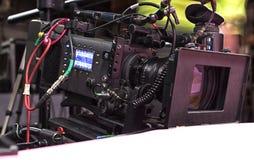 截去数字路径专业人员录影的照相机 库存图片