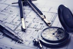 截止日期项目工程 免版税库存照片