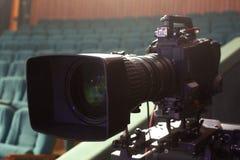 截去数字路径专业人员录影的照相机 库存照片