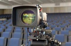 截去数字路径专业人员录影的照相机 4k摄象机的辅助部件 免版税图库摄影