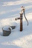 截去的查出的路径泵水白色 库存照片