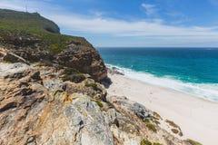戴兹海滩看法在开普角的 免版税图库摄影