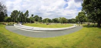 戴安娜喷泉伦敦纪念公主威尔士 库存图片