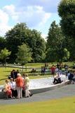 戴安娜喷泉纪念公主威尔士 库存图片