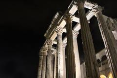 戴安娜寺庙在梅里达 免版税库存照片