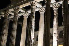戴安娜寺庙在梅里达 库存图片