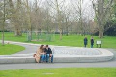戴安娜Memorial Fountain公主 库存图片