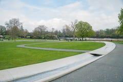 戴安娜Memorial Fountain公主 图库摄影