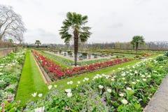 戴安娜Memorial Garden公主在海德公园 免版税库存照片