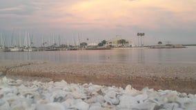 戴维斯海岛 库存照片