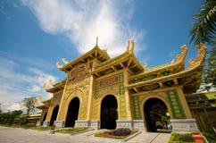戴nam公园徒步旅行队寺庙越南 库存照片