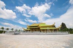 戴nam公园徒步旅行队寺庙越南 图库摄影
