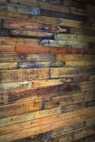 户内木墙壁 免版税库存照片