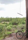户外与自行车 图库摄影