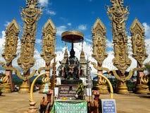 户外宗教结构在泰国 免版税图库摄影