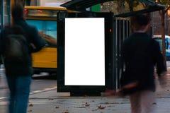 户外广告风雨棚 免版税库存图片