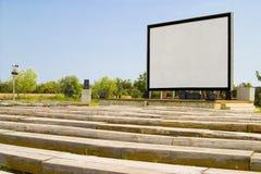户外戏院显示 免版税图库摄影