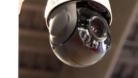户外的安全监控相机