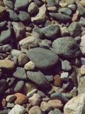 户外石头和白天背景  免版税库存图片