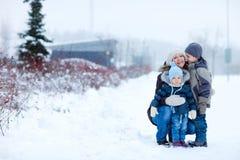 户外系列冬天 库存照片