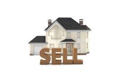 房地产出售 免版税库存照片