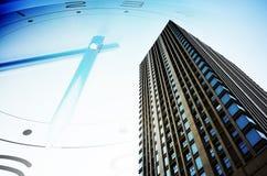 房地产和经济发展 免版税图库摄影