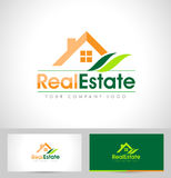 房地产商标设计 库存照片