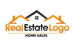 房地产商标 向量例证
