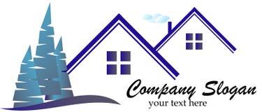 房地产商标 免版税库存图片