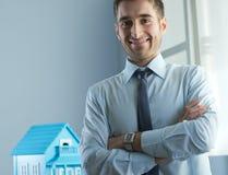 房地产机构 免版税图库摄影