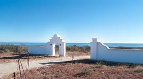 房地产梦想在巴哈墨西哥 库存图片